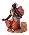 12 Inch Scale Seated Camel Driver